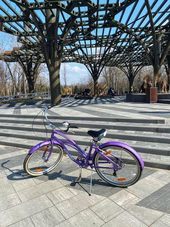 """Велосипед Electra Cruiser Lux 7D Ladies' Purple Metallic 26"""""""