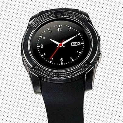 Сенсорные Smart watch v8 смарт умные часы 3 экрана мультиязычность