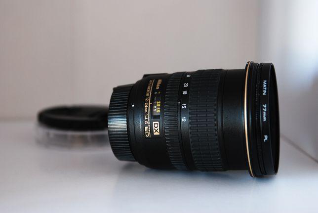 Nikon 12-24mm f4G ED DX Nikkor + поляризаційний фільтр