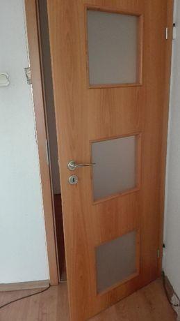 Drzwi Invado - dwa skrzydła stan idealny