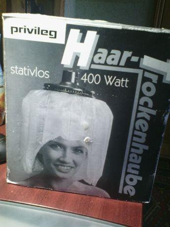 Убор фен колпак для сушки волос из Германии.
