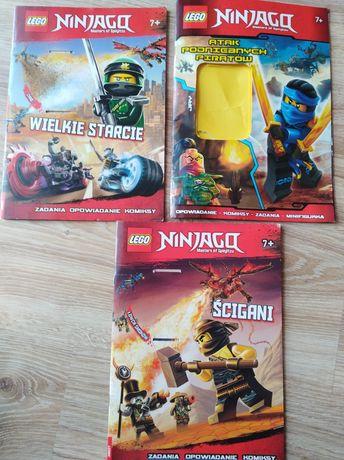 Zestaw komiksy lego ninjago