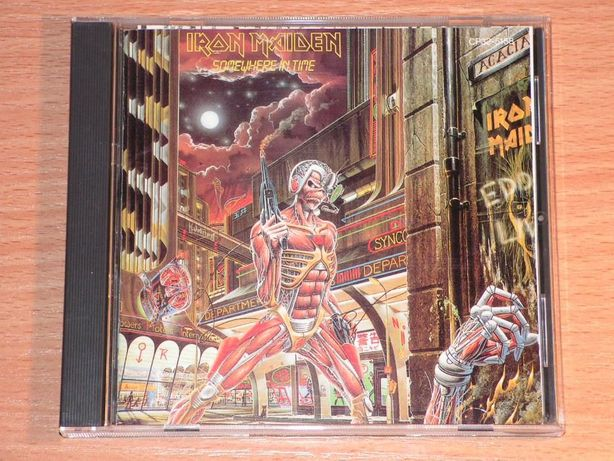 Iron Maiden - Somewhere In Time CP32-5158 Japan (Green triangle)