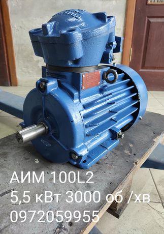 Електродвигун АИМ 100L2 У2 5,5 кВт 3000 об /хв