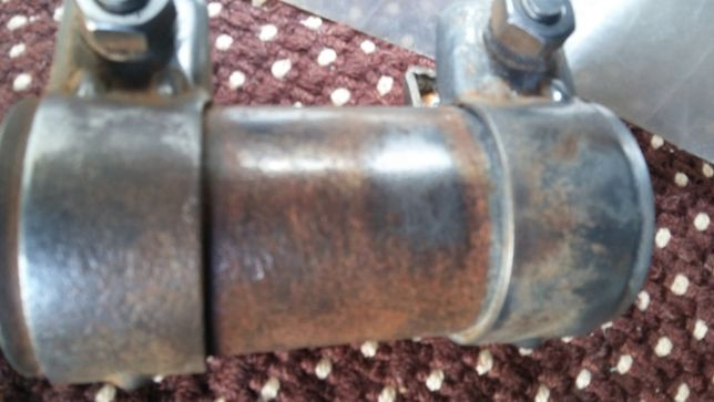 Złącze rury wydechowej średnica 50 mm długość 125 mm Golf