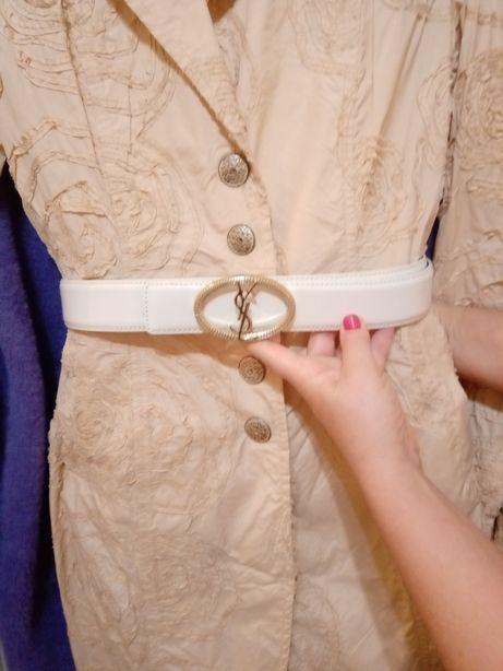 Стильный белый женский пояс для свадьбы фуршета Новый
