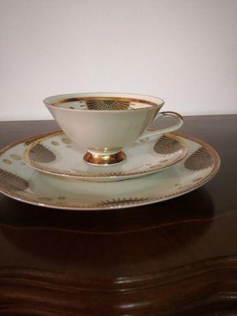 Chávena + Prato Bolo + Pires Porcelana Bavaria