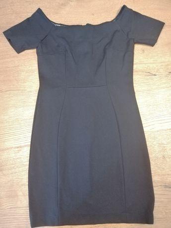 Elegancka czarna sukienka AGGI, r. 40 !!!