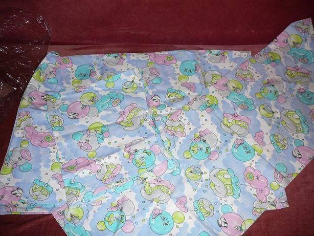 Новый комплект постельного белья для самых маленьких