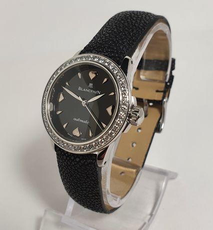 Blancpain Leman Ultra Slim 2102 Diamonds