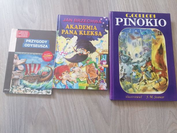 Pinokio Akademia Pana kleksa Przygody Odyseusza