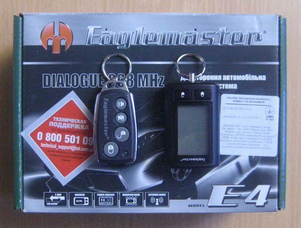 Автосигнализация с обратной связью Eaglemaster E4 (новая, магазин)