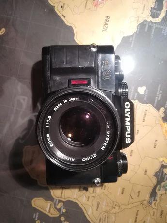 Olympus om 40, manual e automática Máquina fotográfica analógica