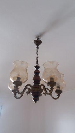 Candeeiro com 5 lampadas