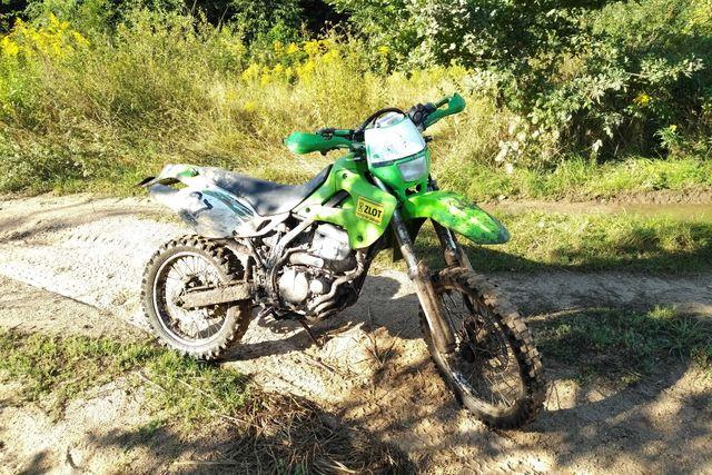 Kawasaki KLX 300 R rok 1997 zarejestrowany, przegląd i OC