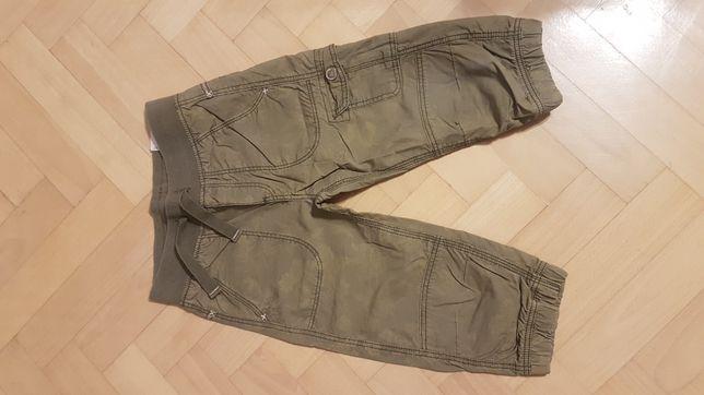 H&M spodenki za kolanko khaki 116