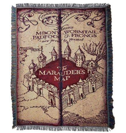Dywan na ścianę Harry Potter Ron ozdoba obraz Hogwart 115x150cm MAPA
