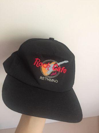 Hard rock cafe czarna czapka z daszkiem rethimno