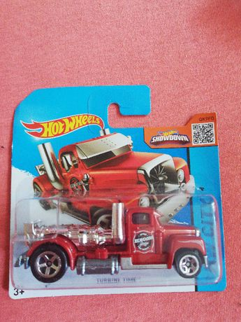 Auto Hot Wheels TURBINE TIME TIR czerwony