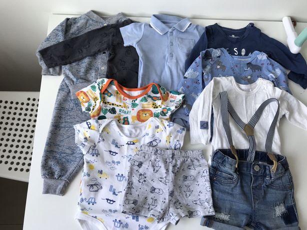 Пакет одежды на мальчика 6-9 месяцев, рост 74