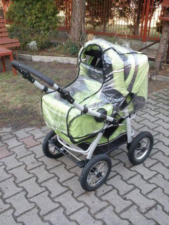 Wózek głęboko-spacerowy 3w1 + fotelik AKJAX TRAPER