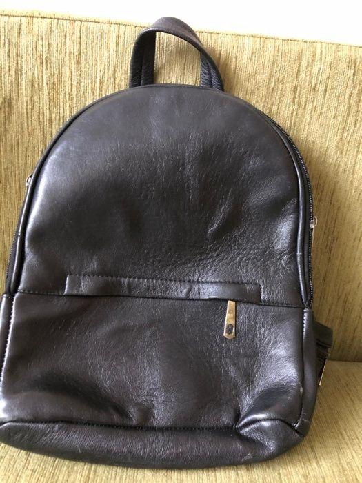 сумка-рюкзачок черного цвета Винница - изображение 1