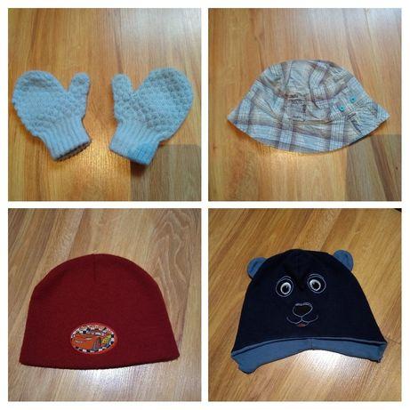 Czapki, rękawiczki, kapelusz 74/80