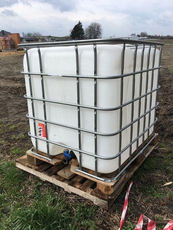 Mauzer - zbiornik na wodę - 1000L / beczka