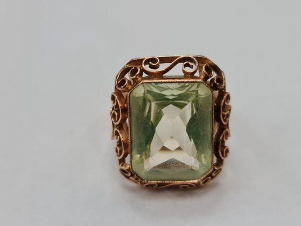 Wiekowy! Wyjątkowy złoty pierścionek/ 585/ 11.5 gram/ R17/ JPU