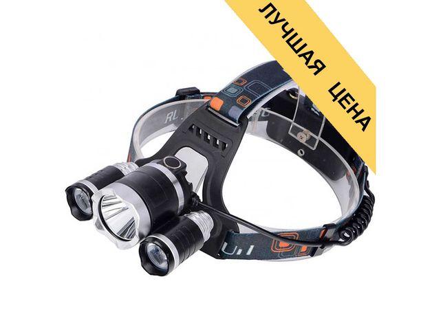 Налобный Тактический Фонарик фонарь для рыбалки велосипеда похода