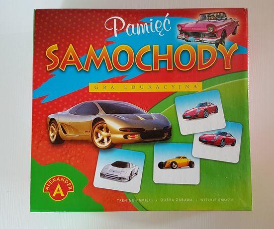 Gra pamięć memory samochody Alexander