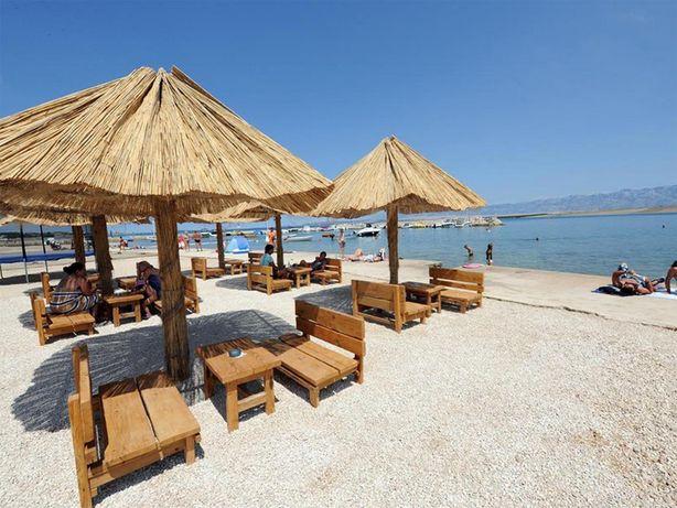 Chorwacja VIR, 80 m od plaży, tanie apartamenty 2+2, pokoje, noclegi