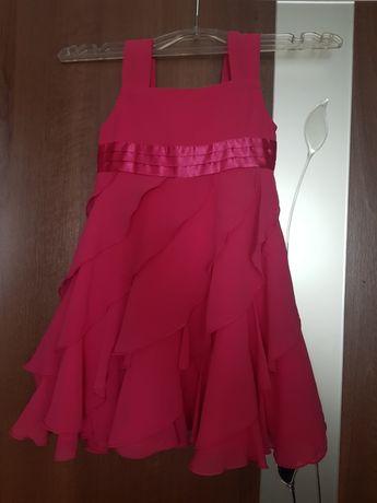 Платье сарафан малиновый 2-3 года 92 98