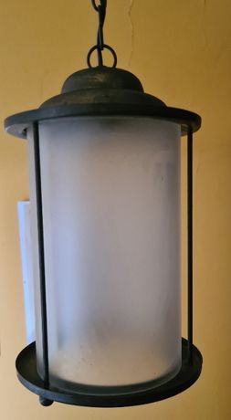 Stara przedwojenna lampa wisząca