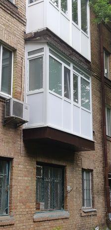 Балкон под ключ Сварка Вынос Балкона Ремонт Окна Крыша