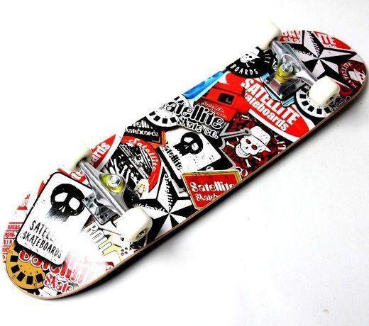"""Скейтборд трюковый Скейт """"Satellite"""" до 85 кг"""
