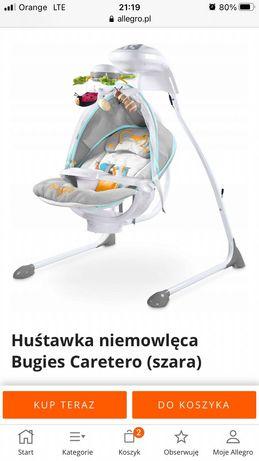 Bujaczek huśtawka dla niemowląt