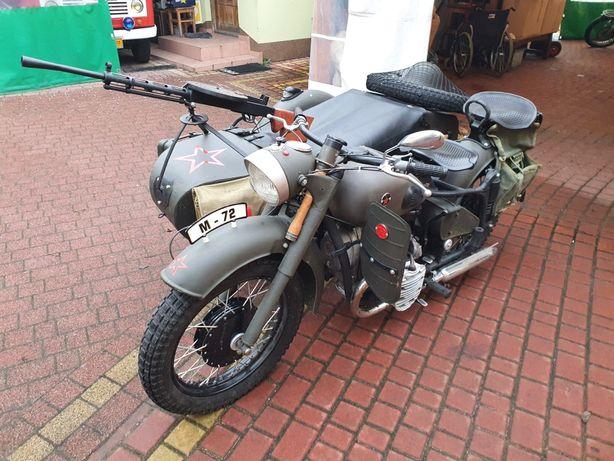 Motocykl k750 dniepr ural