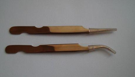 Пінцет Lash Secret (пинцет прямий і вигнутий, прямой и изогнутый)