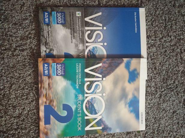 Podręcznik i ćwiczenia do angielskiego Vision 2