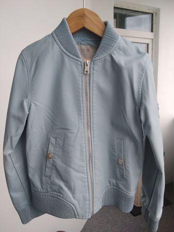 Дитяча шкіряна куртка 128см, 7-8 років