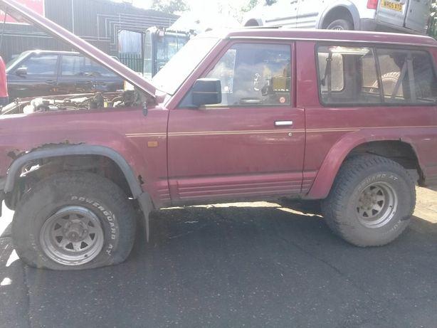 Nissan Patrol gr eixos peças