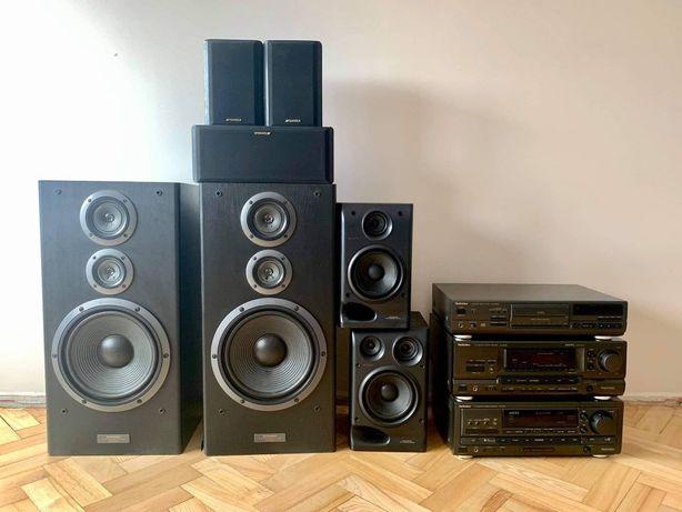 Sprzęt RTV Technics, Sony,Pionier,Sansui
