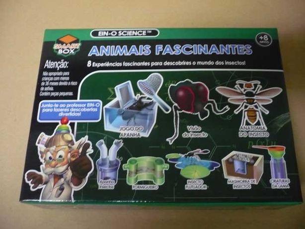 """Jogo para crianças """"Animais fascinantes"""""""