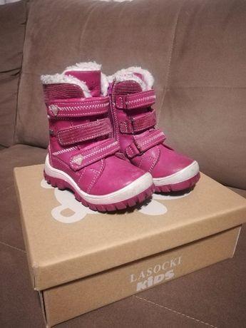 Buty zimowe Lasocki roz. 20