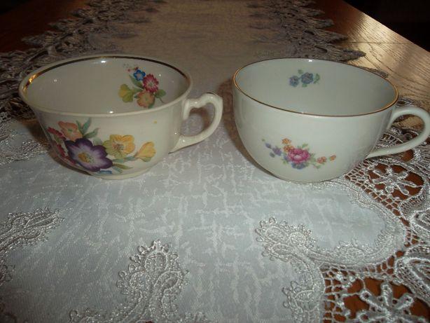 stare filiżanki porcelana