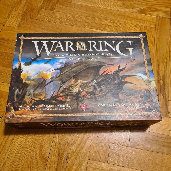 Wojna o Pierścień / War of the Ring - 1 edycja  - ENG - gra planszowa Warszawa - image 1