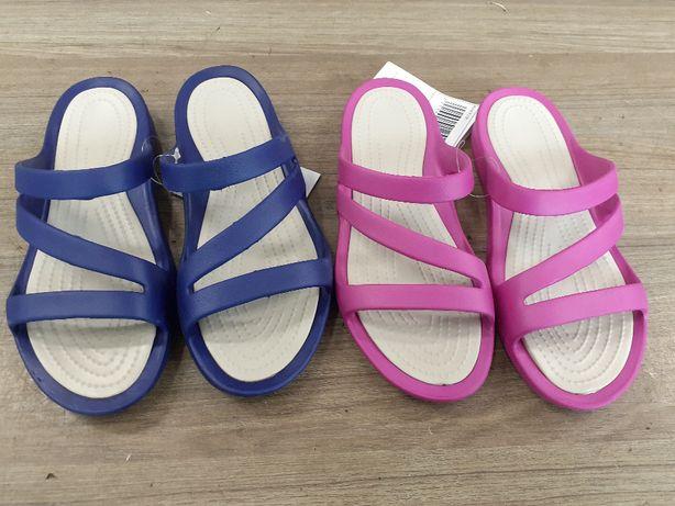Damski klapek Eva dwukolor obuwie