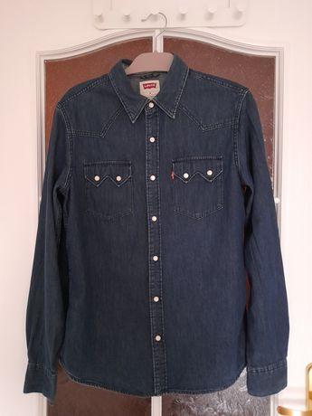 Niebieska jeansowa koszula Levi's
