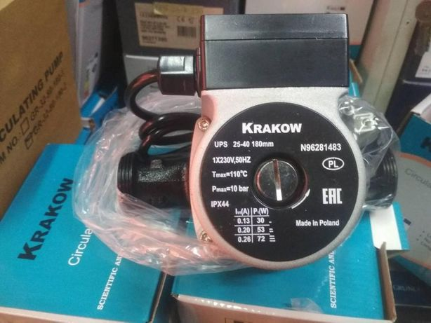 Циркуляцилонный насос KRAKOW 25-60-180